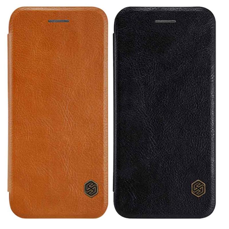 "Кожаный чехол (книжка) Nillkin Qin Series для Apple iPhone 7 / 8 (4.7"")"