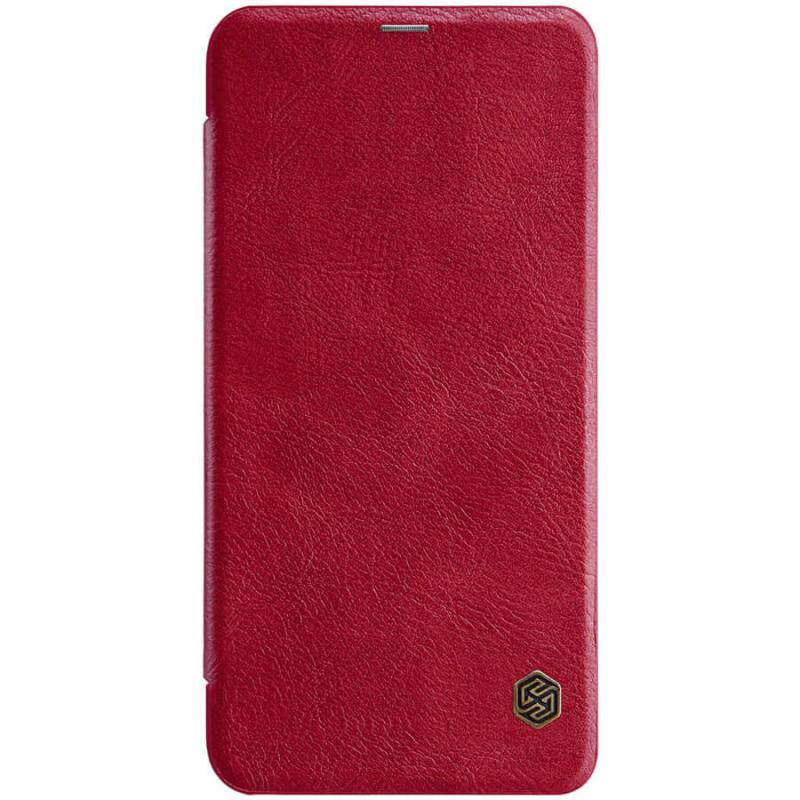 Кожаный чехол (книжка) Nillkin Qin Series для LG K30 (2019)