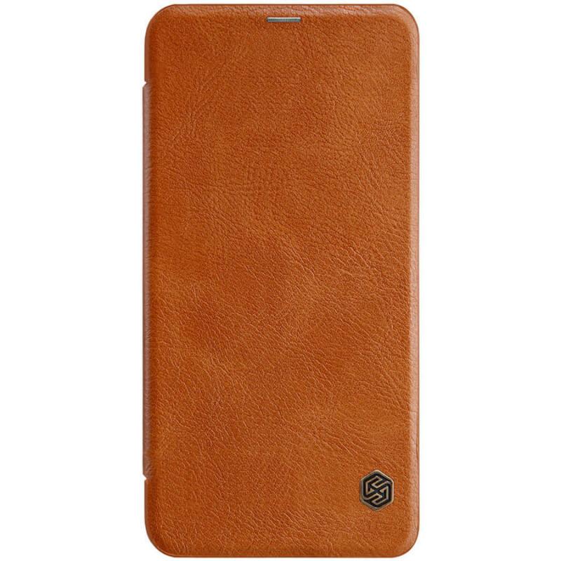 Кожаный чехол (книжка) Nillkin Qin Series для Nokia X71
