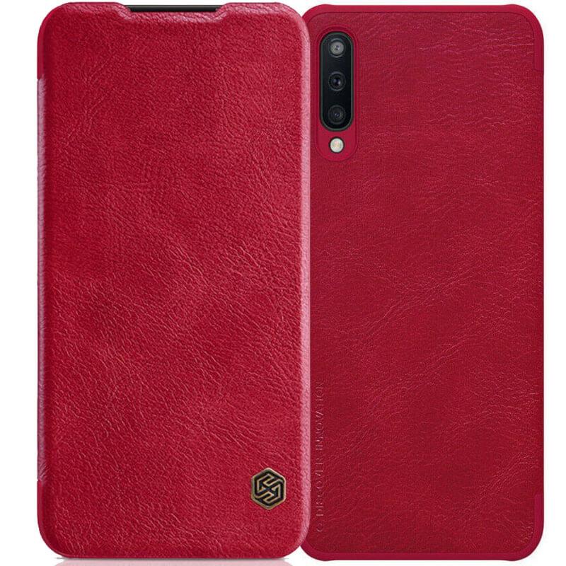 Кожаный чехол (книжка) Nillkin Qin Series для Samsung Galaxy A50 (A505F) / A50s / A30s