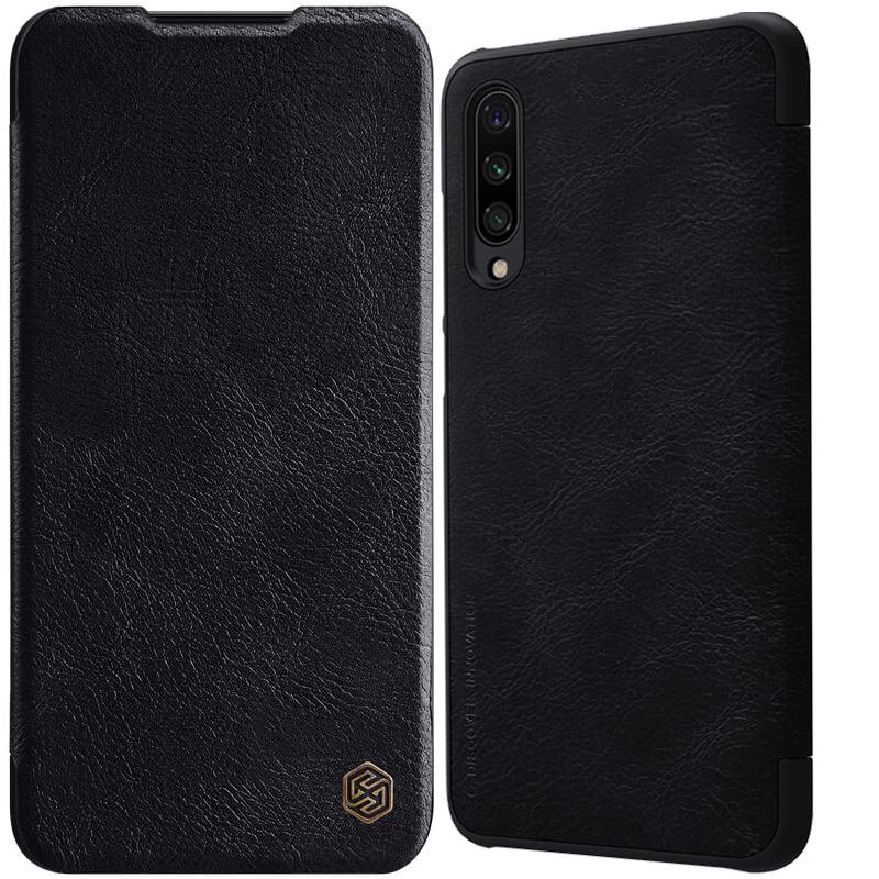 Кожаный чехол (книжка) Nillkin Qin Series для Samsung Galaxy A70s