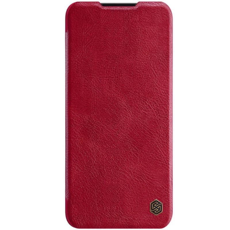 Кожаный чехол (книжка) Nillkin Qin Series для Xiaomi Mi Note 10 Pro