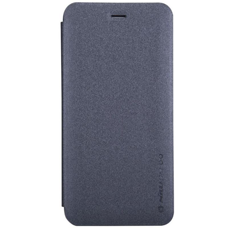 Кожаный чехол (книжка) Nillkin Sparkle Series для Nokia X71