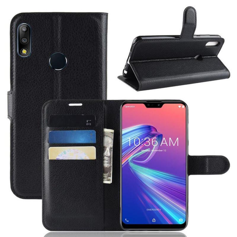 Чехол (книжка) Wallet с визитницей для Asus Zenfone Max Pro M2 (ZB631KL)