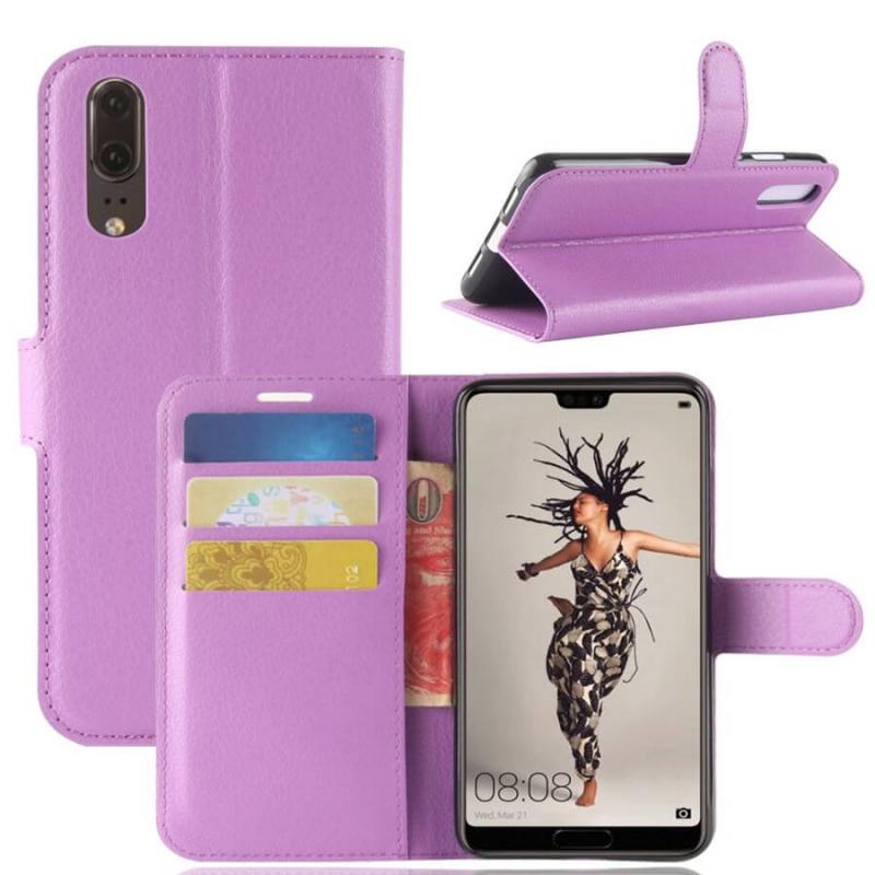 Чехол (книжка) Wallet с визитницей для Huawei P20