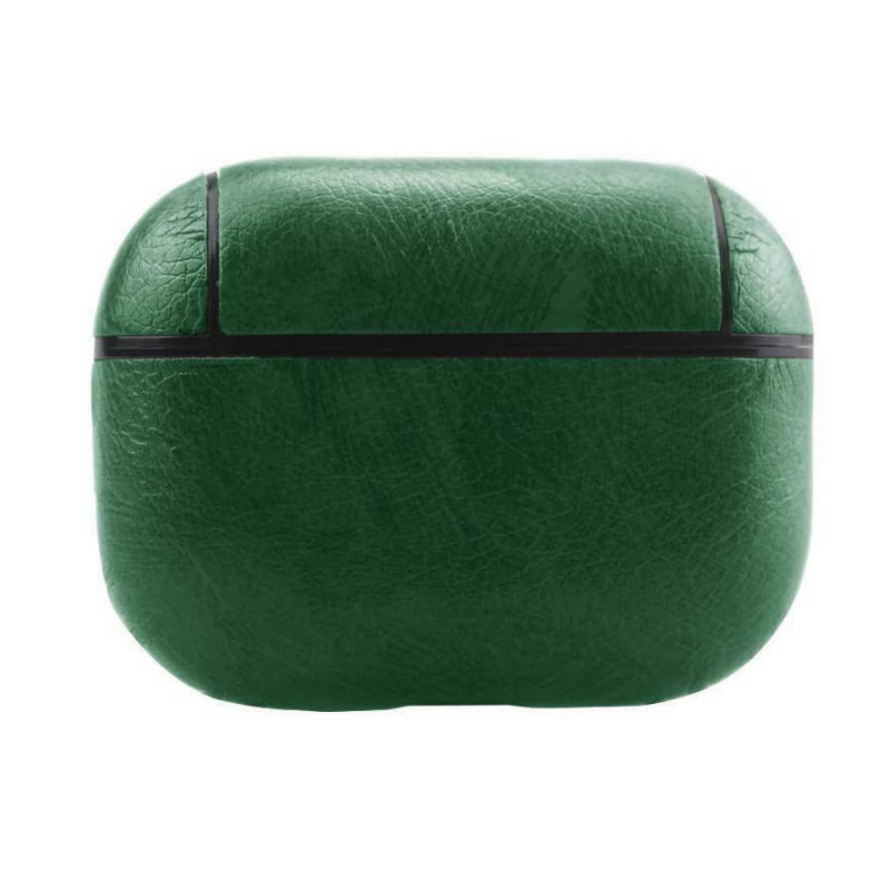 Кожаный футляр Leather series для наушников AirPods Pro