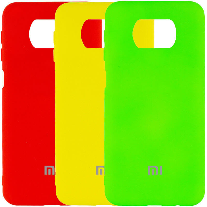 Чехол Silicone Cover My Color Full Protective (A) для Xiaomi Poco X3 NFC / Poco X3 Pro