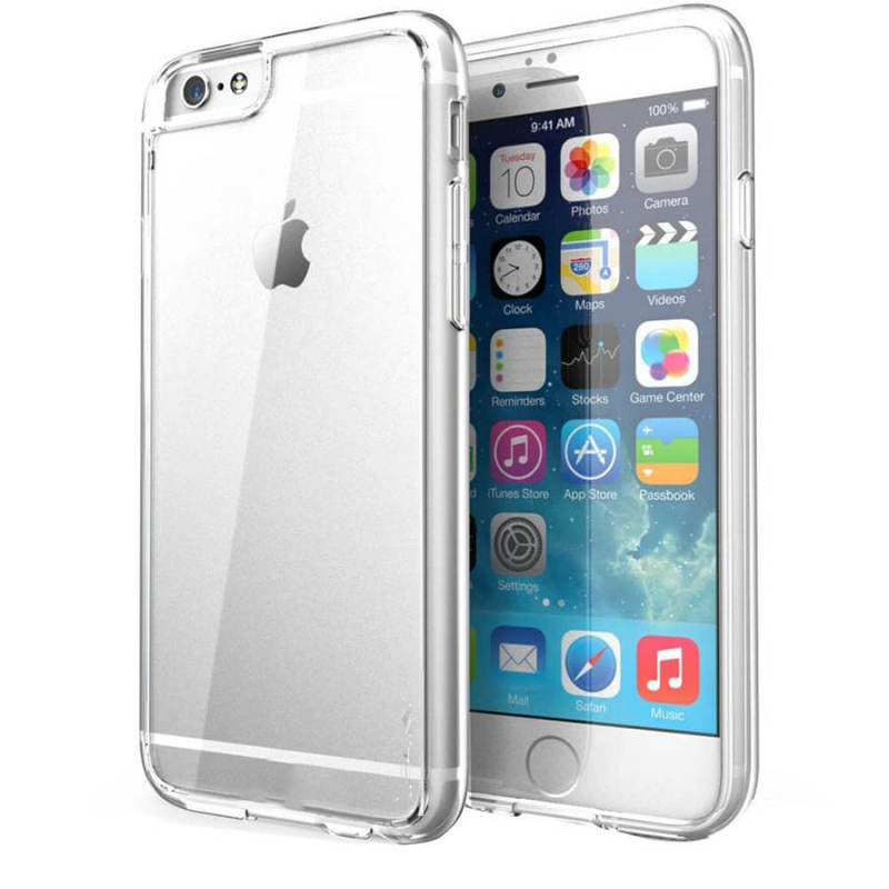 "TPU чехол iPaky Clear Series (+стекло) для Apple iPhone 6/6s plus (5.5"")"