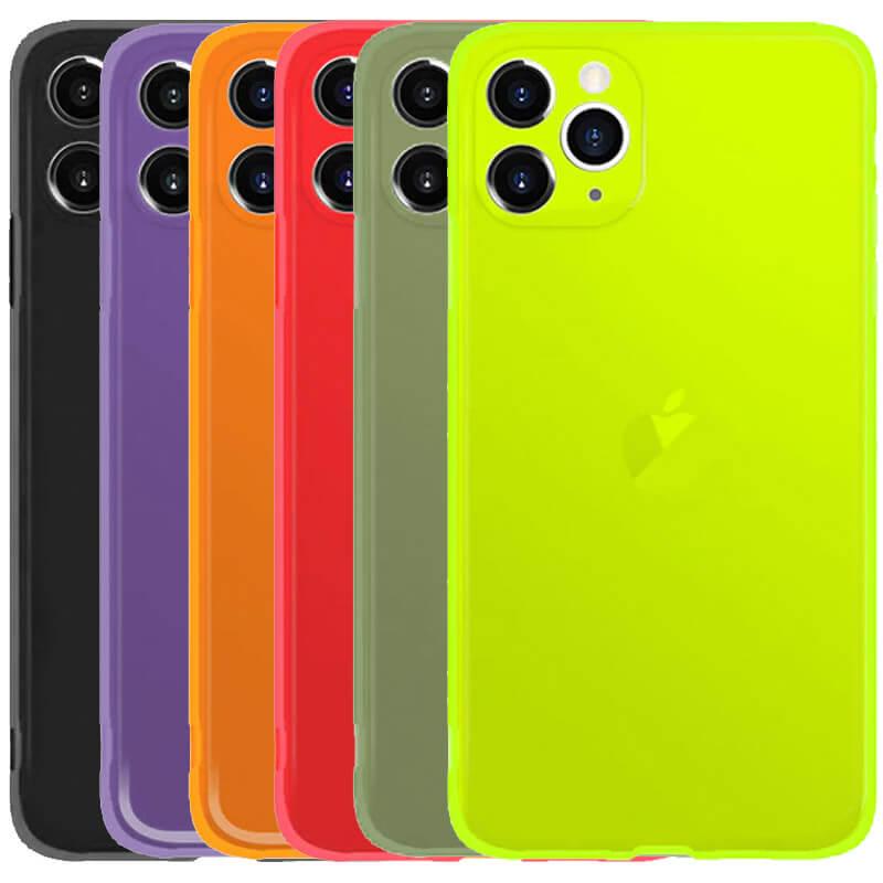 """Матовый полупрозрачный TPU чехол с защитой камеры для Apple iPhone 11 Pro (5.8"""")"""