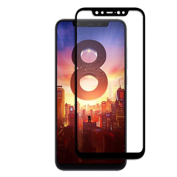 Защитное цветное стекло Mocolo (CP+) на весь экран для Xiaomi Mi 8
