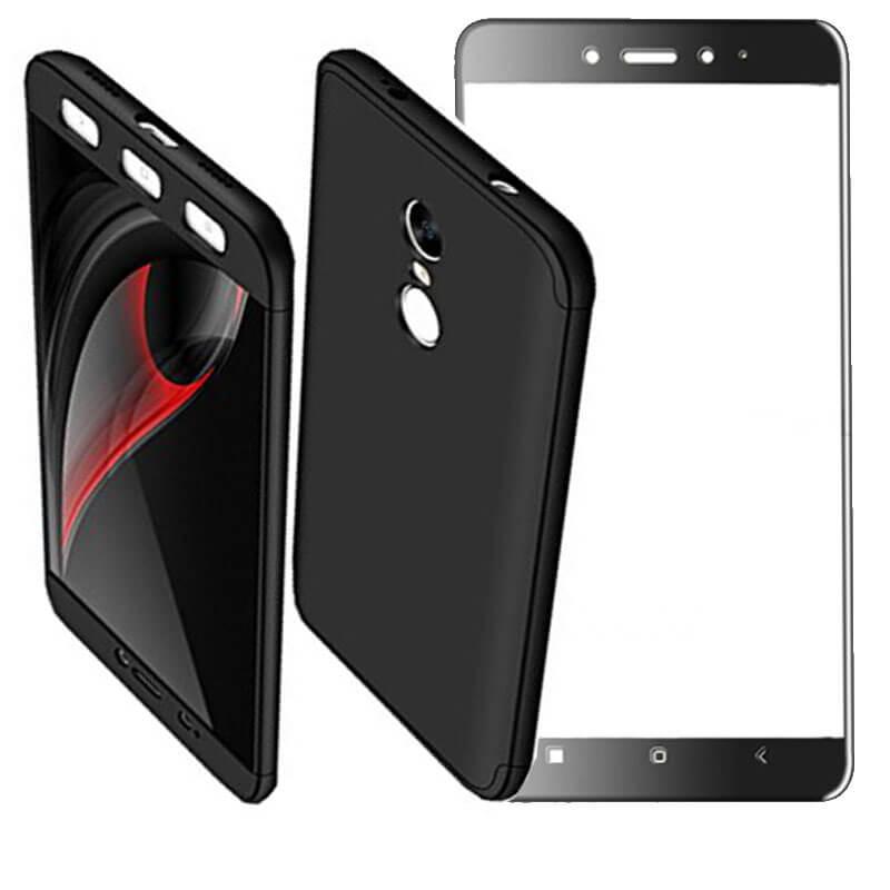 Накладка 360 градусов +стекло со скидкой 40% для Xiaomi Redmi Note 4X / Note 4 (Snapdragon)