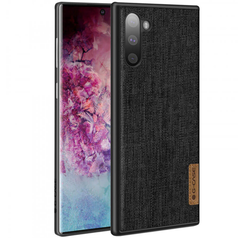 Накладка G-Case Textiles Dark series для Samsung Galaxy Note 10