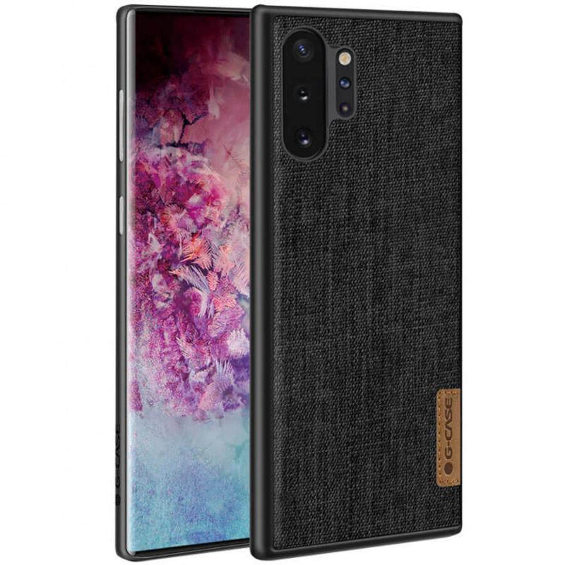 Накладка G-Case Textiles Dark series для Samsung Galaxy Note 10 Plus