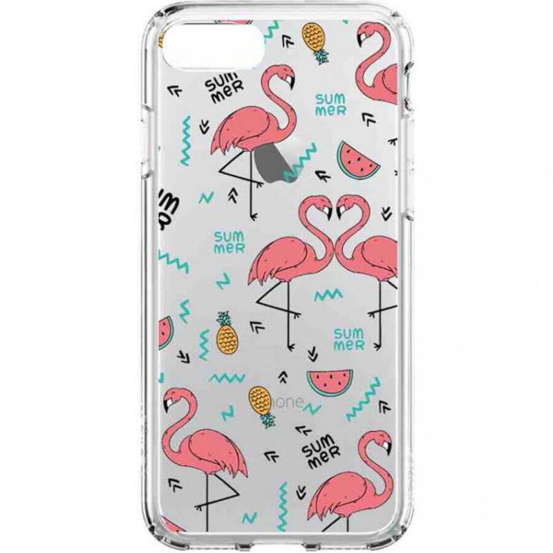 Накладка Glue Case Фламинго для Xiaomi Redmi 6