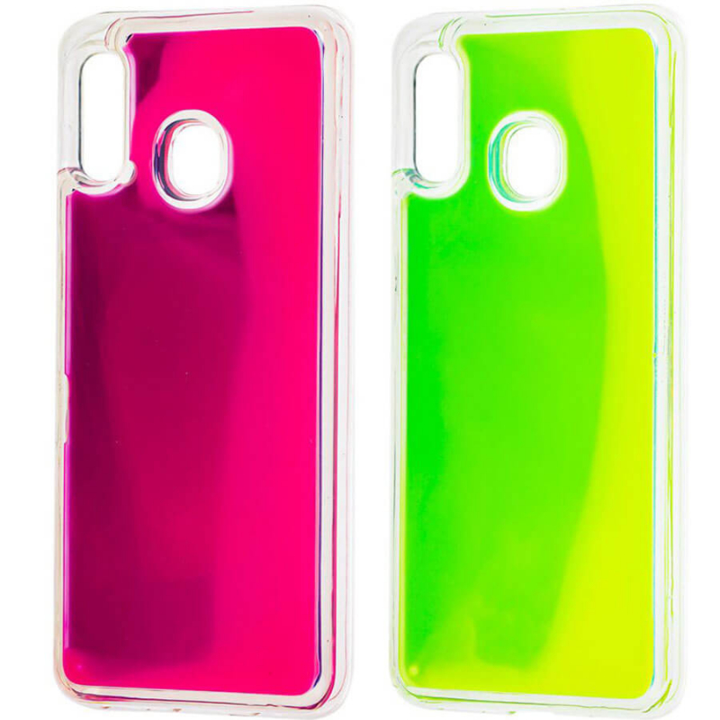 Неоновый чехол Neon Sand glow in the dark для Samsung Galaxy A10s
