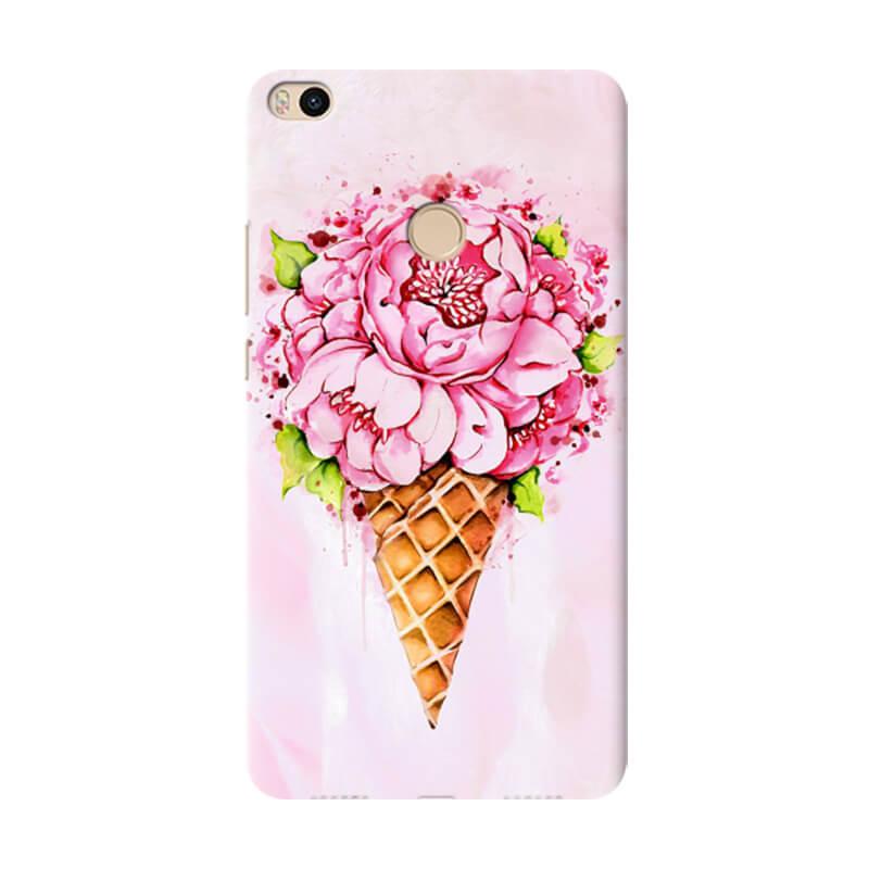 Чехол Ice Cream Flowers для Xiaomi Mi Max 2