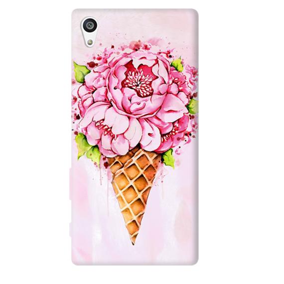 Чехол Ice Cream Flowers для Sony Xperia Z5