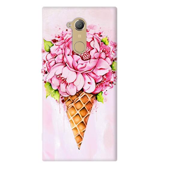 Чехол Ice Cream Flowers для Sony Xperia XA2 Ultra