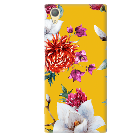 Чехол Flowers On The Sun для Sony Xperia XA1 Plus