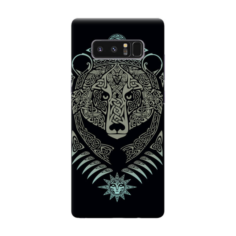 Чехол Bear Pattern для Samsung Galaxy Note 8