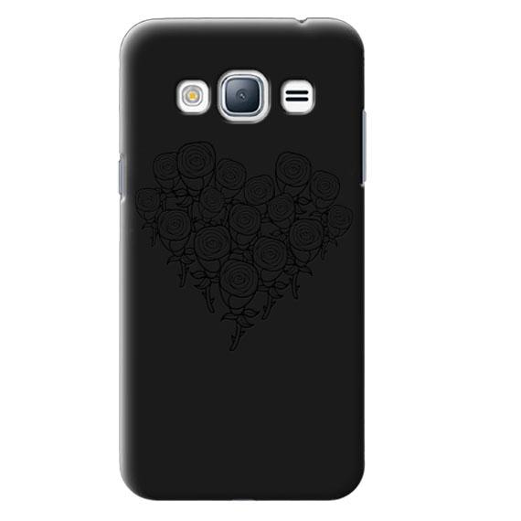Чехол Roses Heart для Samsung J320F Galaxy J3 (2016)