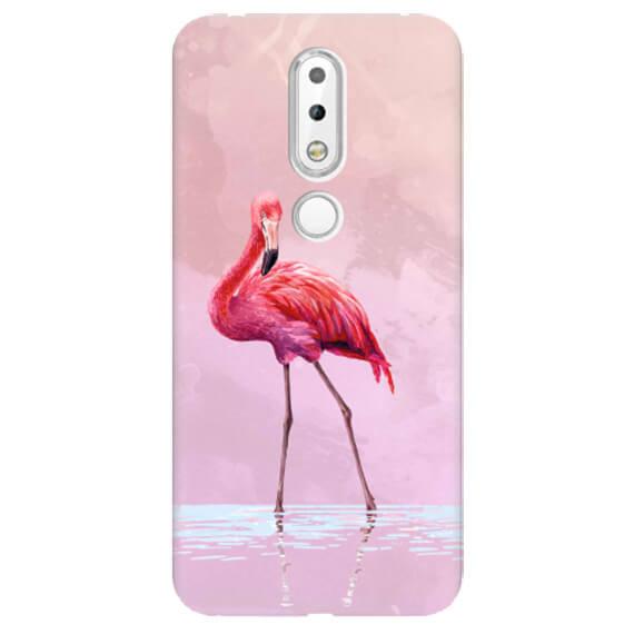 Чехол Pink Flamingo для Nokia 6.1 Plus (Nokia X6)