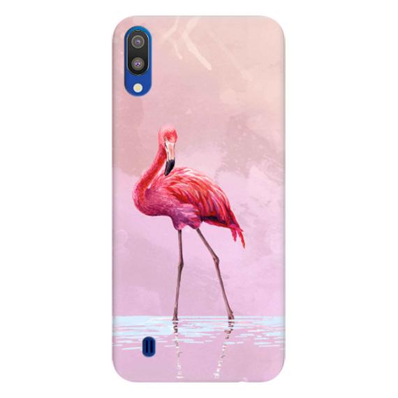 Чехол Pink Flamingo для Samsung Galaxy M10