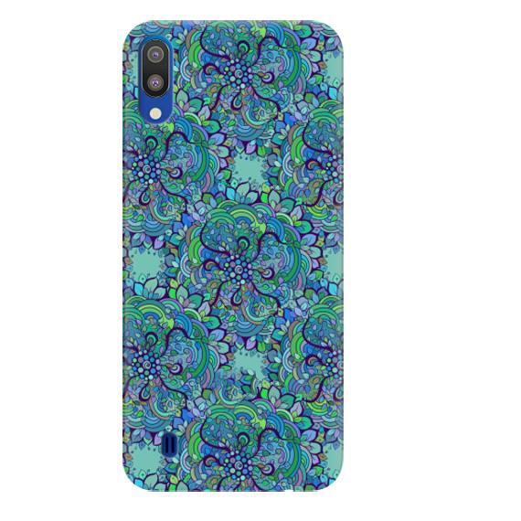 Чехол Flower Pattern для Samsung Galaxy M10