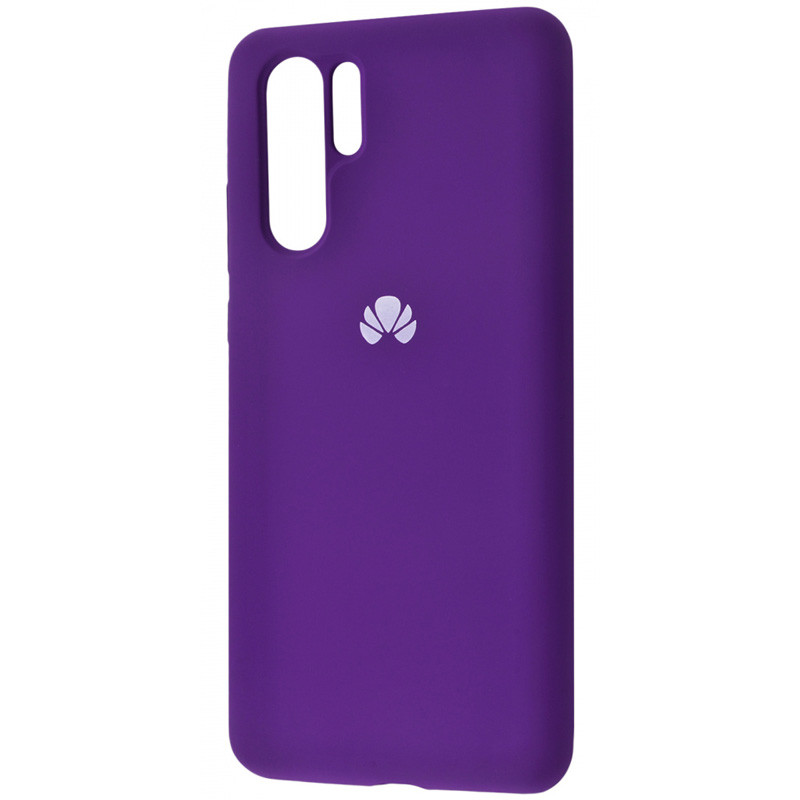Чехол Silicone Case Full Protective для Huawei P30 Pro