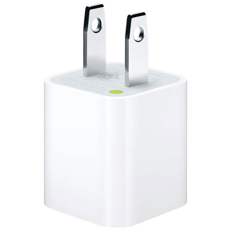 Сетевое зарядное устройство (5w 1A) для Apple iPhone / iPod (box)
