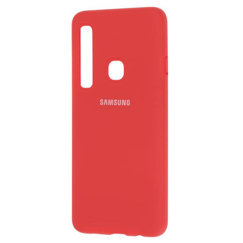 Чехол Silicone Cover (AA) для Samsung Galaxy A9 (2018)