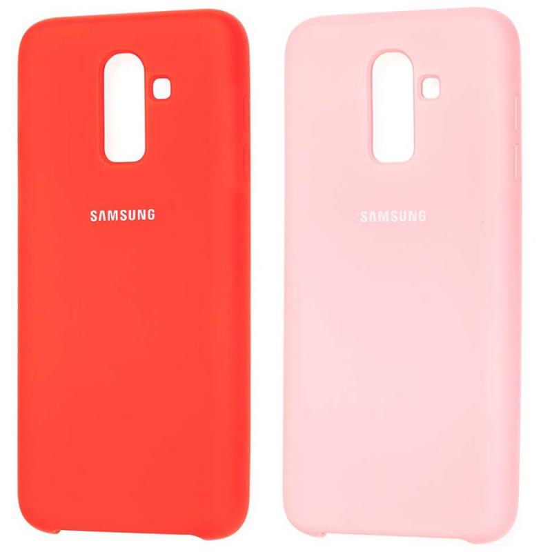 Чехол Silicone case для Samsung Galaxy J8 (2018)