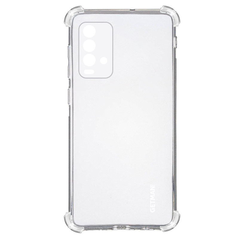 TPU чехол GETMAN Ease logo усиленные углы для Xiaomi Redmi Note 9 4G / Redmi 9 Power / Poco M3 / 9T