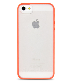 TPU чехол Melkco Poly FRAME для Apple iPhone 5/5S/SE (+ мат.пленка)