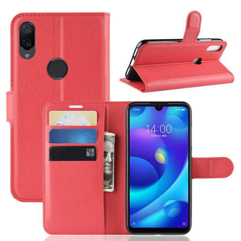 Чехол (книжка) Wallet с визитницей для Samsung Galaxy M20