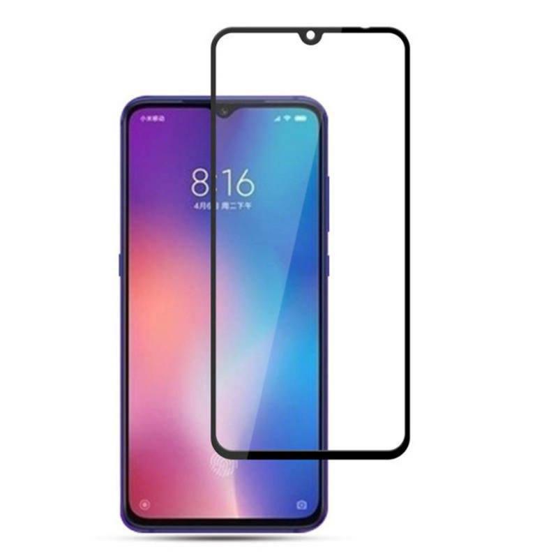 Защитное цветное стекло Mocolo (full glue) на весь экран для Xiaomi Mi 9 / Mi CC9 / Mi 9 Lite