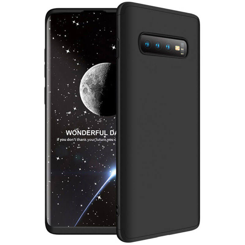 Пластиковая накладка GKK LikGus 360 градусов (opp) для Samsung Galaxy S10