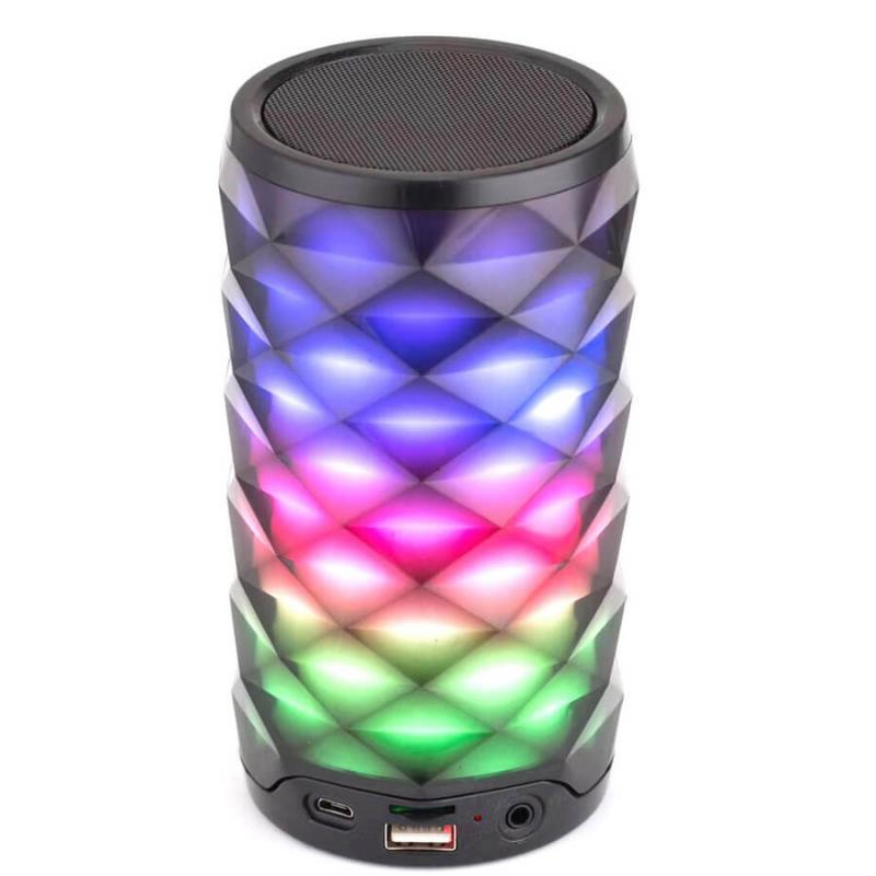 Портативная Bluetooth колонка G9 PULSE 03 (with light)