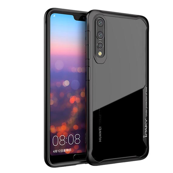 TPU+PC чехол iPaky Luckcool Series для Huawei P20 Pro