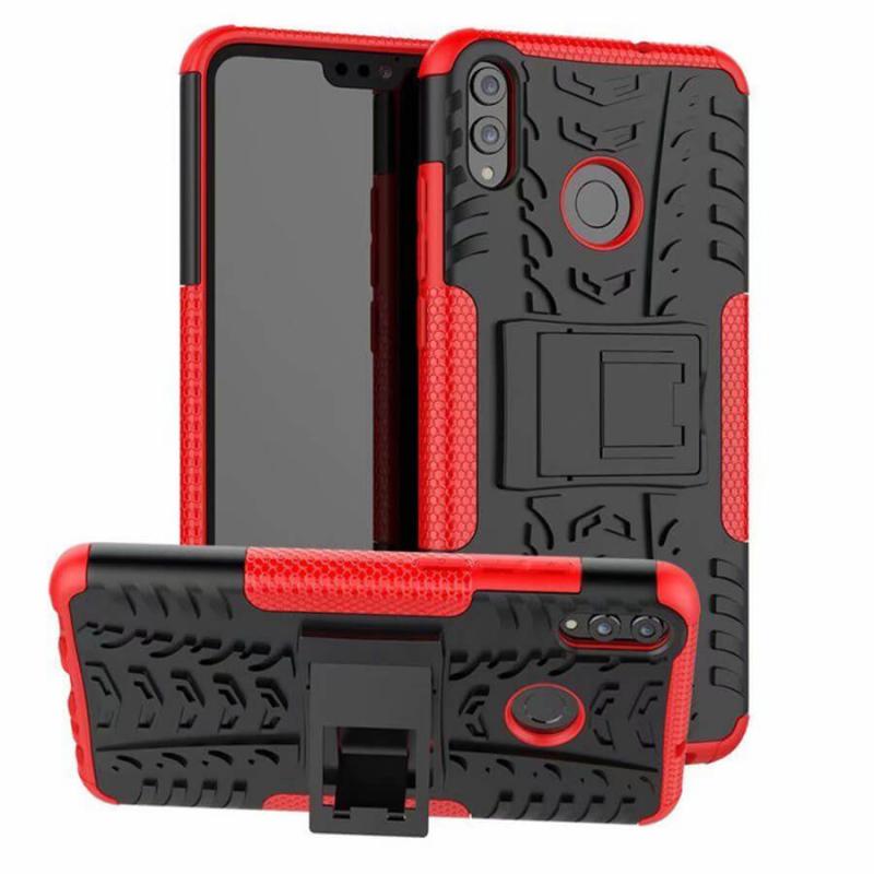 Противоударный двухслойный чехол Shield для Huawei Honor 8X