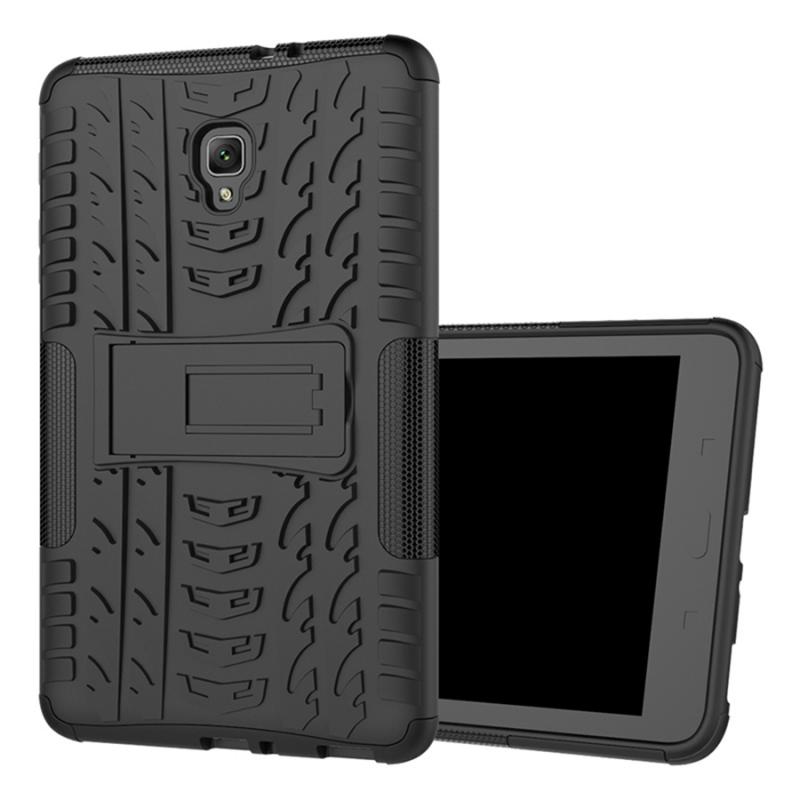 Противоударный двухслойный чехол Shield для Samsung Galaxy Tab A 8.0 LTE T385 (2018) c подставкой