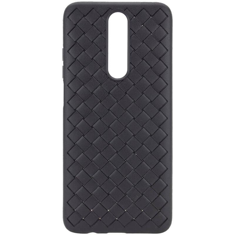 PU чехол-накладка Epik Weaving series для Xiaomi Redmi K30