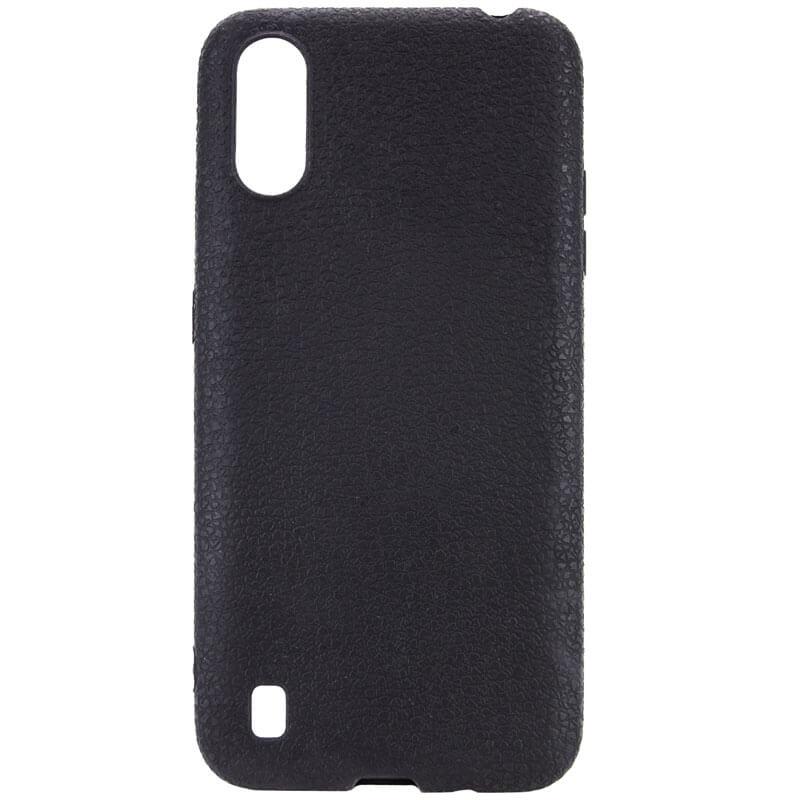 PU накладка Epik leather series для Samsung Galaxy A01