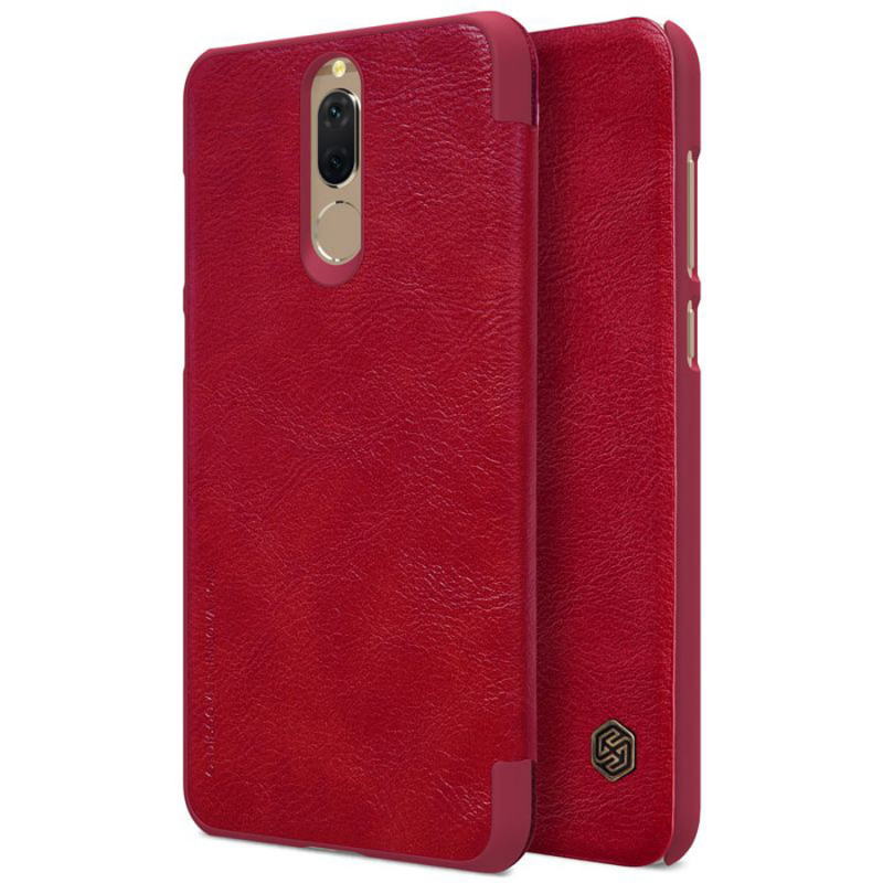 Кожаный чехол (книжка) Nillkin Qin Series для Huawei Mate 10 Lite