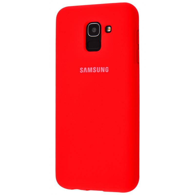 Чехол Silicone Cover Full Protective (AA) для Samsung A730 Galaxy A8+ (2018)