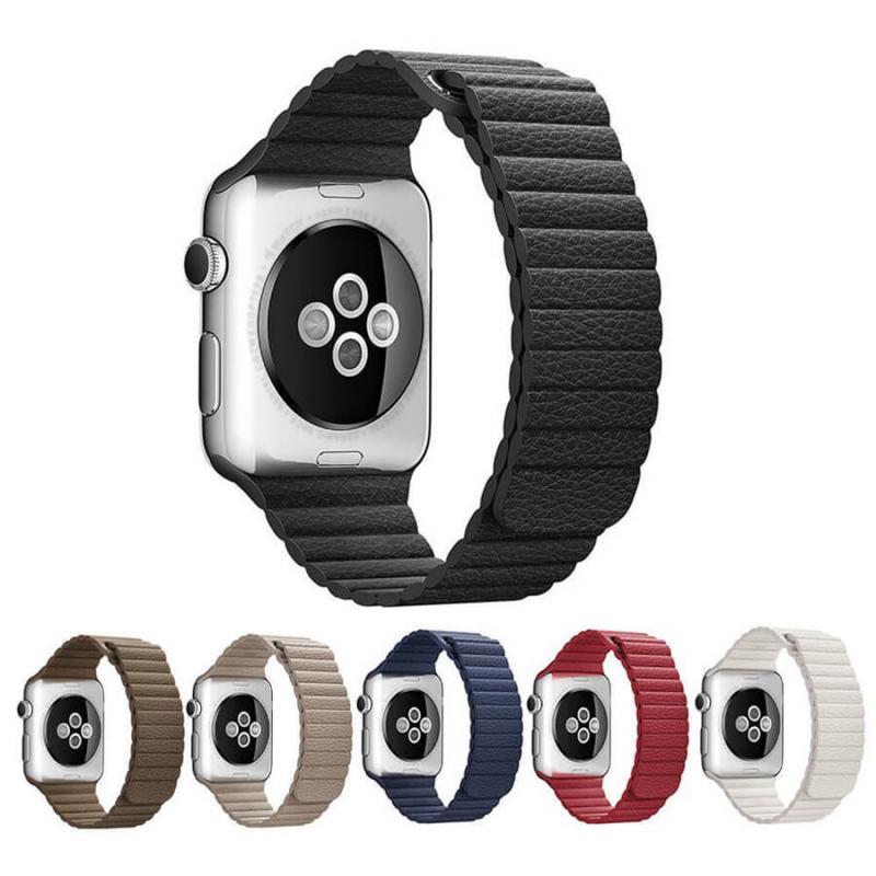Ремешок Leather Loop Design для Apple watch 38mm / 40mm