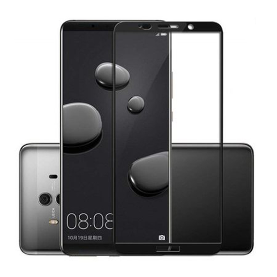 Защитное цветное стекло Mocolo (full glue) на весь экран для Huawei Mate 10 Pro