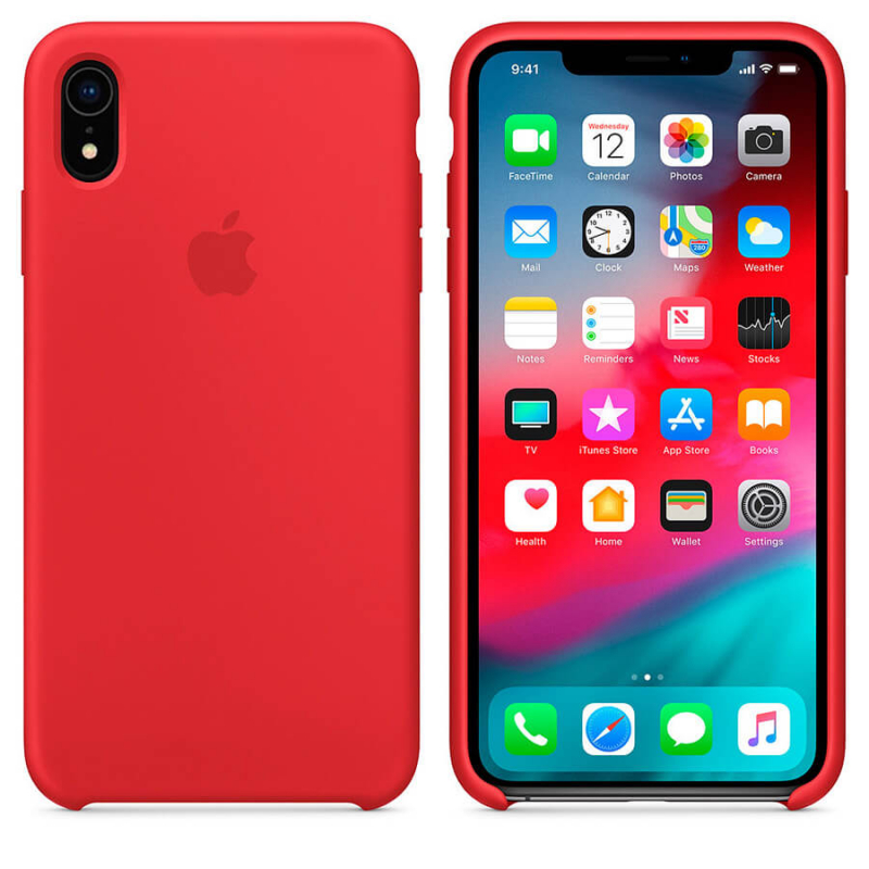 "Чехол Silicone case (AAA) для Apple iPhone XR (6.1"")"