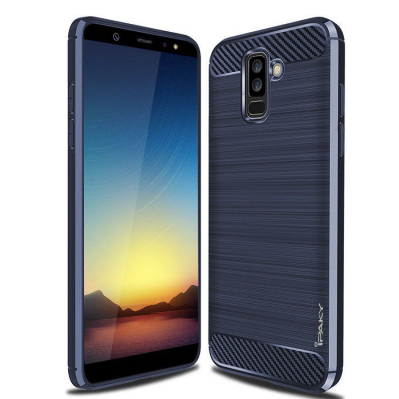 TPU чехол iPaky Slim Series для Samsung Galaxy A6 Plus (2018) / Galaxy J8 (2018)