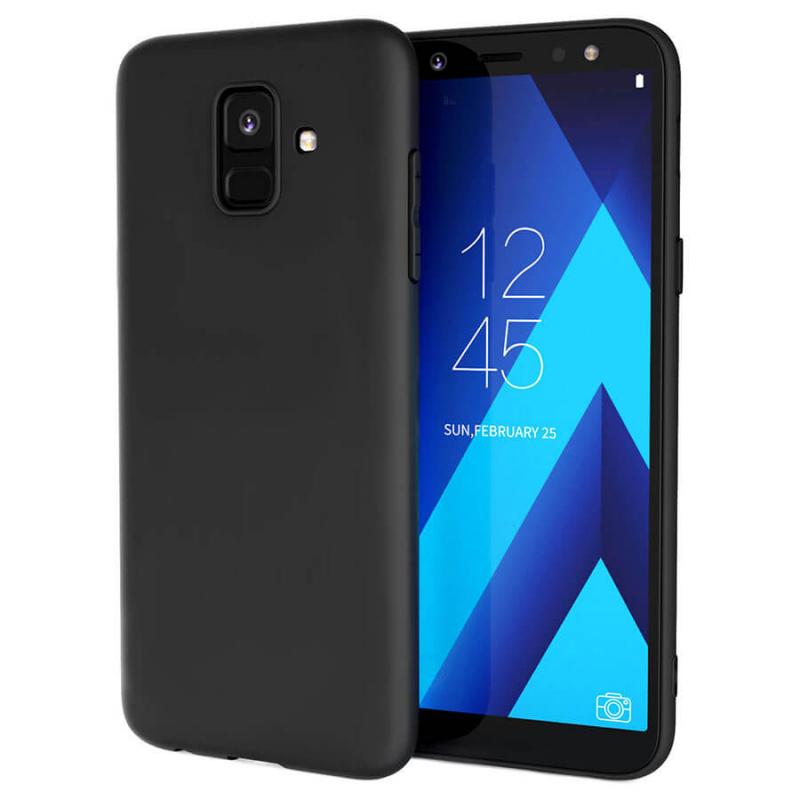 Силиконовый чехол Candy для Samsung Galaxy A6 (2018)